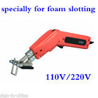 150W Durable Electric Hand Held Hot Knife for Foam Slotting+Small Slotting Kit