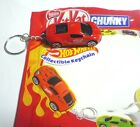 "KIT KAT and HOT WHEELS New CAR KEYCHAIN Nestle MALAYSIA 2017 2.5"" Long RARE"