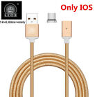 Magnetic Braided USB Charger Charging Cable For iPhone 5 5S 6 6S 7 Plus US Stock