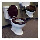 Signature Hardware Luxury Toilet Seat Walnut