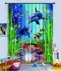 3D Ocean World 91 Blockout Photo Curtain Printing Curtains Drapes Fabric Window