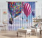 3D Sea Balloons 94 Blockout Photo Curtain Printing Curtains Drapes Fabric Window