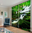 3D Forest River 20 Blockout Photo Curtain Printing Curtains Drapes Fabric Window