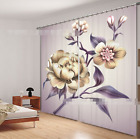3D Flowers 341 Blockout Photo Curtain Printing Curtains Drapes Fabric Window AU