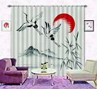3D Fly Birds 89 Blockout Photo Curtain Printing Curtains Drapes Fabric Window AU