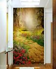 3D Retro Castle Garden 0012 Wall Paper Wall Print Decal Wall Deco AJ WALLPAPER