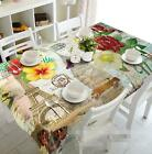 3D Retro Pattern Tablecloth Table Cover Cloth Birthday Party Event AJ WALLPAPER