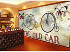 3D Vintage Cars 431 WallPaper Murals Wall Print Decal Wall Deco AJ WALLPAPER