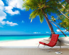 3D Beach Scenery 075 WallPaper Murals Wall Print Decal Wall Deco AJ WALLPAPER