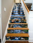 3D stone waterfall view Risers Decoration Photo Mural Vinyl Decal Wallpaper US
