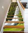 3D Lawn Falls 343 Stairs Risers Decoration Photo Mural Vinyl Decal Wallpaper US