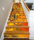3D Hanging Branch Stairs Risers Decoration Photo Mural Vinyl Decal Wallpaper US