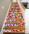 3D Color Candy 235 Stairs Risers Decoration Photo Mural Vinyl Decal Wallpaper US