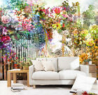 3D Colorful flowers 20 Wall Paper Wall Print Decal Wall Deco Indoor wall Murals