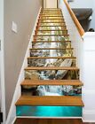 3D Falls Rocks 241 Stair Risers Decoration Photo Mural Vinyl Decal Wallpaper AU