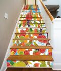 3D Various Fruits 2 Stair Risers Decoration Photo Mural Vinyl Decal Wallpaper AU