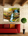 3D Waterfall Scenery 7 Wall Stickers Vinyl Murals Wall Print Decal  Art AJ STORE
