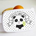 Cookify - Lunch Box - Personalised Panda - Great for School Lunches