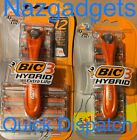 BIC 3 Hybrid Men's Razors 1 handle + 6 refills Pack Quick Dispatch & Delivery..