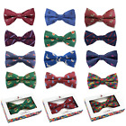 Men's Woven Printed Bow Tie (Stags or Horses/Huntsman)