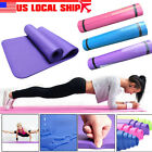 Durable Non slip Yoga Mat Health Lose Weight Fitness Thick Pilates Exercise Pad