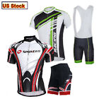 Bicycle Jersey Shorts Sets Men's Cycle Clothing 3D Padded Lycra Bib Tights Kits
