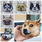 how to do a zipper face - Keys Pouch Coin Purse Zipper Case Wallet 3d Dog Face for Women/children