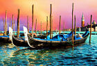 Venice Ltaly Scenery Oil painting Picture Print On Canvas Home Art Wall Decor fc
