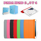 Cover case Smart Cover Apple iPad 2 3 4 + Protection Rear Matte durable