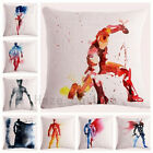 spiderman pillow - Decorative Throw Pillow Case Watercolor Marvel Superhero Comic Cushion  18