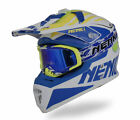 NENKI MX Motocross DOT Fiberglass Helmet NK-316 with One Helmet Fit MX Goggle