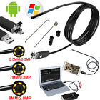 2 in 1 10M 6LED Android Endoscope Inspection Camera Tube USB Scope For Windows