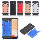 Case Hard & Soft Rubber Hybrid Armor Impact Defender Cover For Samsung Galaxy