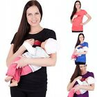 Maternity T-shirt Breastfeeding Clothes Tops Nursing Tops For Pregnant Women