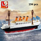b0577 Big Titanic Jack Rose Figures Building Blocks Toy Fit with LEGO DIY194pcs