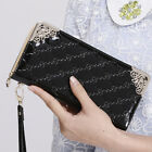 NEW Lady's Women Zip Bag PU Long Purse Clutch Wallet Credit Card Holder