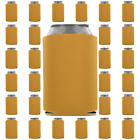 Gold Can Coolers Beverage Insulators Wedding Favors Party Supplies