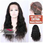 360 Wig Brazilian Remy Virgin Human Hair Wigs Body Wave 360 Lace Frontal Closure