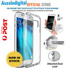Galaxy S7 S7 Edge Case Hybrid Crystal Clear Bumper Cover For All Samsung Aus