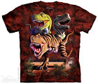 Rex Collage T-Shirt from The Mountain - Adult S - 5X & Child S - XL