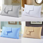 2Pcs Pillow Cases Covers Set Strip Pattern Pillowcase Standard/Queen/ King Size