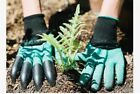 4 ABS Plastic Claws Gardening Gloves with Garden Gloves For Digging & Planting