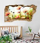 3D Flowers Bee 240 Wall Murals Wall Stickers Decal Breakthrough AJ WALLPAPER AU
