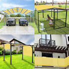 15' FT Waterproof Straight Side Hemmed Sun Shade Sail Canopy Awning Patio Cover