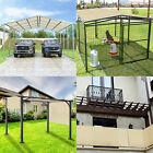 14' FT Waterproof Straight Side Hemmed Sun Shade Sail Canopy Awning Patio Cover