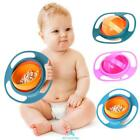 Kids Infant Feeding Dishes Gyro Bowl Universal 360° Rotate Spill-Proof Bowl US
