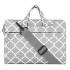 Canvas Fabric CaseCover w/ Shoulder Strap for McBook Pro,Notebook Computer(Gray)