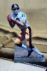Terry Bradshaw Pittsburgh Steeles Quarterback NFL Tabletop Display Standee 9.5