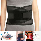 Breathable Lumbar Waist Back Support Brace Strap Pain injury Guard Belt S M L XL