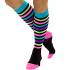 LISH Nurse Compression Socks for Women  -  Graduated 15-25mmHG -  Sports Socks